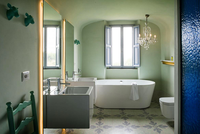 Baroque style italian villa in umbria with indoor vaulted pool idesignarch interior design - Interior design perugia ...