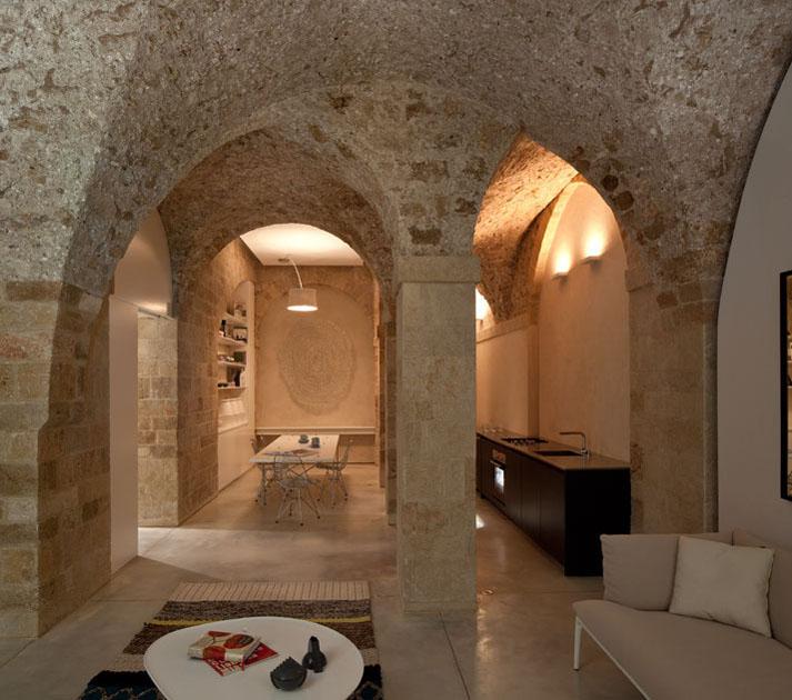 interior kitchen the home tel aviv design | Contemporary Apartment In Jaffa Restored From Historical ...