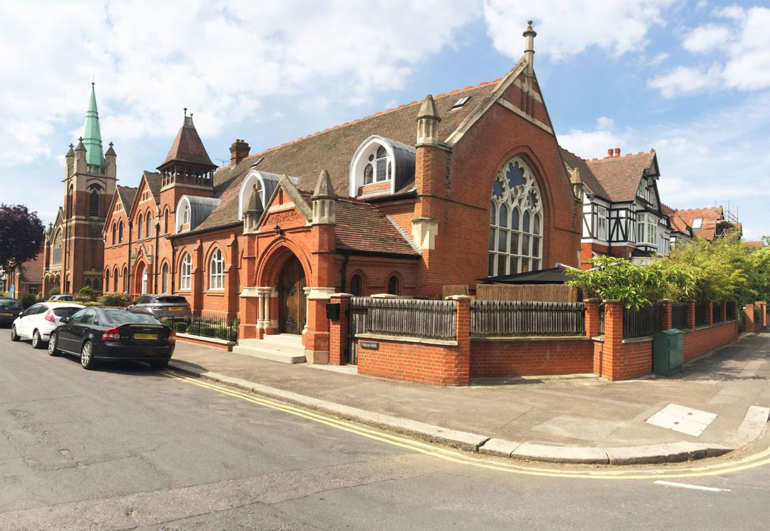 James Spicer Memorial Church Hall School in Chingford