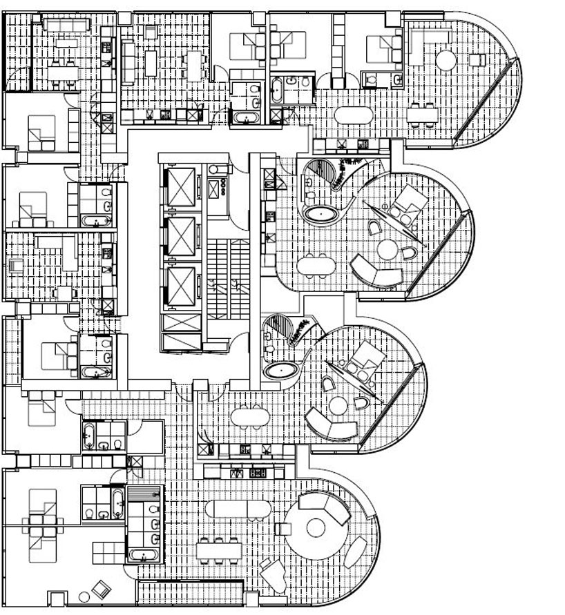 Luxury jameson house condo by foster partners for Apartment plans canada