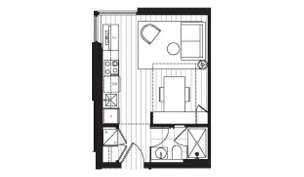 janion micro condos floorplan 1 idesignarch interior micro minnie floorplans winnebago rvs