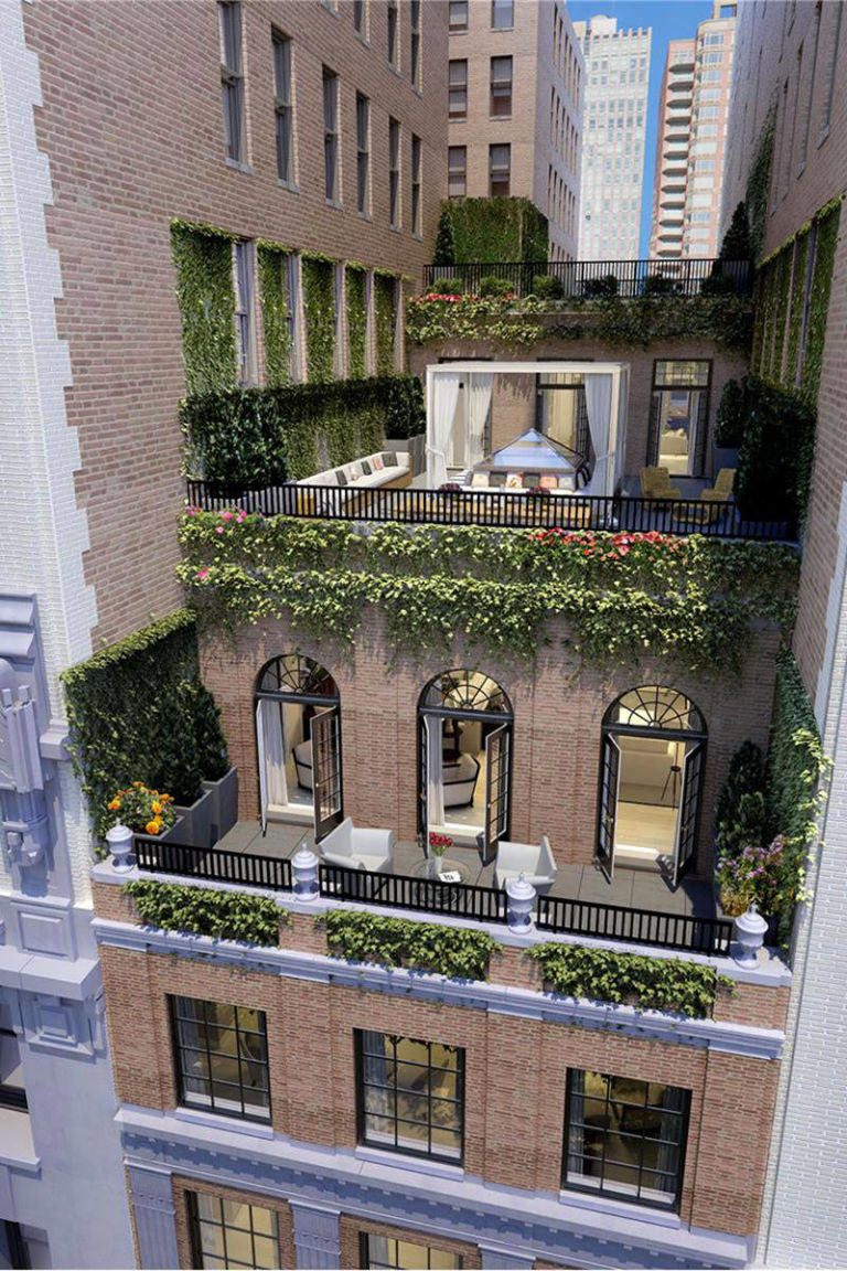 Jennifer Lopez's Madison Square Park Manhattan Penthouse