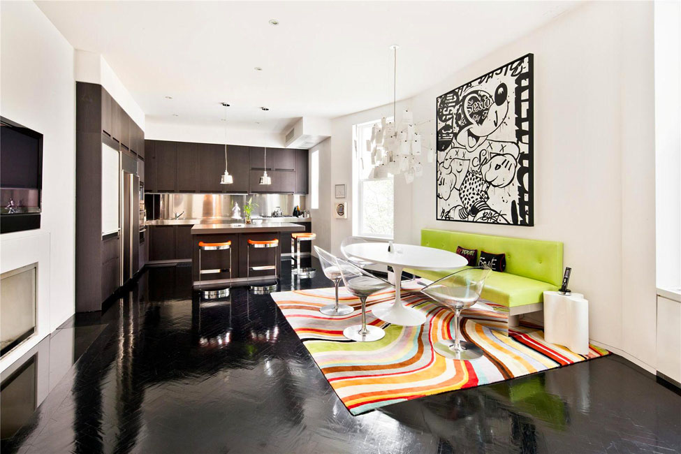 Manhattan triplex interior design by jonathan adler for Manhattan ny interior designer