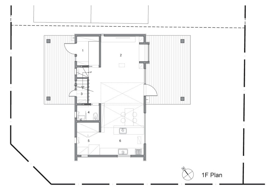 T Shaped House Plans