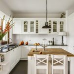 The Elegant Simplicity Of A Timeless Contemporary White Kitchen Design