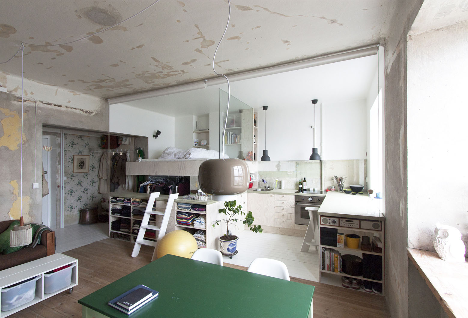 Studio Apartment Renovation inexpensive studio apartment renovation with all-in-one kitchen