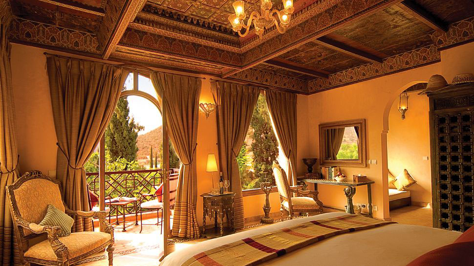 Kasbah tamadot sir richard branson 39 s moroccan retreat for Hotel design marrakech