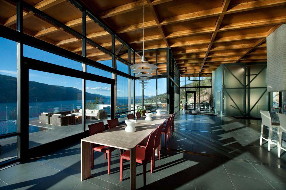 Kelowna Contemporary House On Okanagan Lake Idesignarch Interior Design Architecture