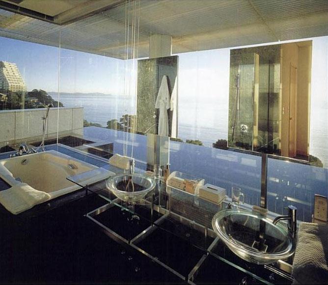 Water Glass House By Kengo Kuma Idesignarch Interior