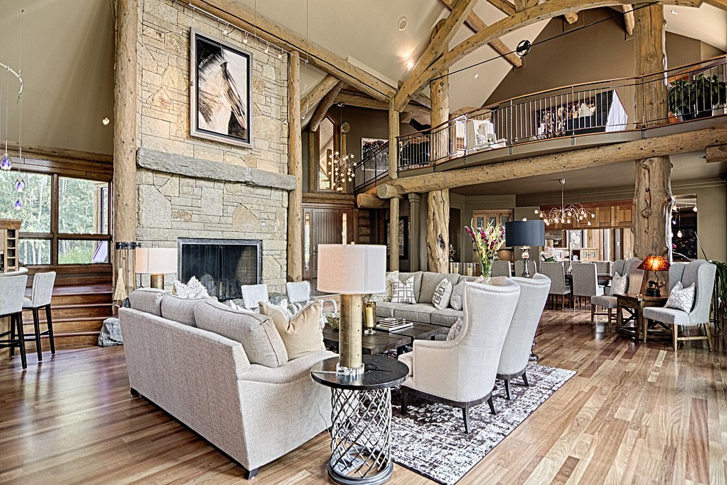 Mountain Style Country Home