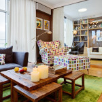 Kiev Apartment Decor With Stylish Details