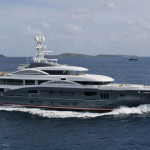 "Sleek Mega Yacht ""Kismet"" Cruises In Style"