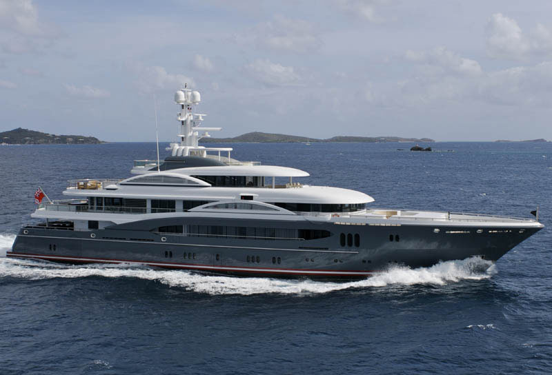 Sleek Mega Yacht Quot Kismet Quot Cruises In Style Idesignarch
