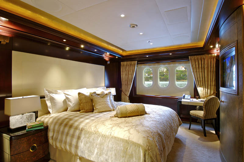 Sleek Mega Yacht Kismet Cruises Style Idesignarch Interior Design Architecture