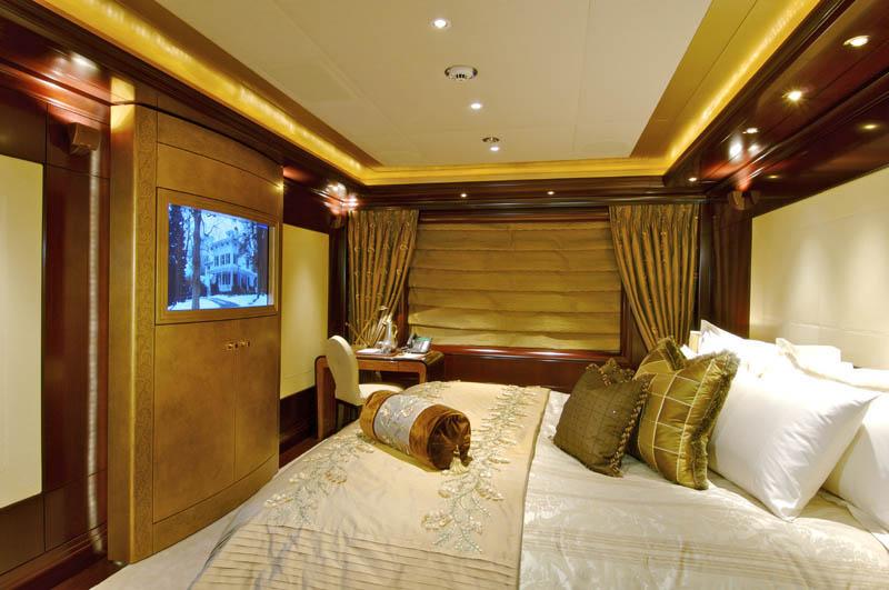 Sleek Mega Yacht Quot Kismet Quot Cruises In Style Idesignarch Interior Design Architecture