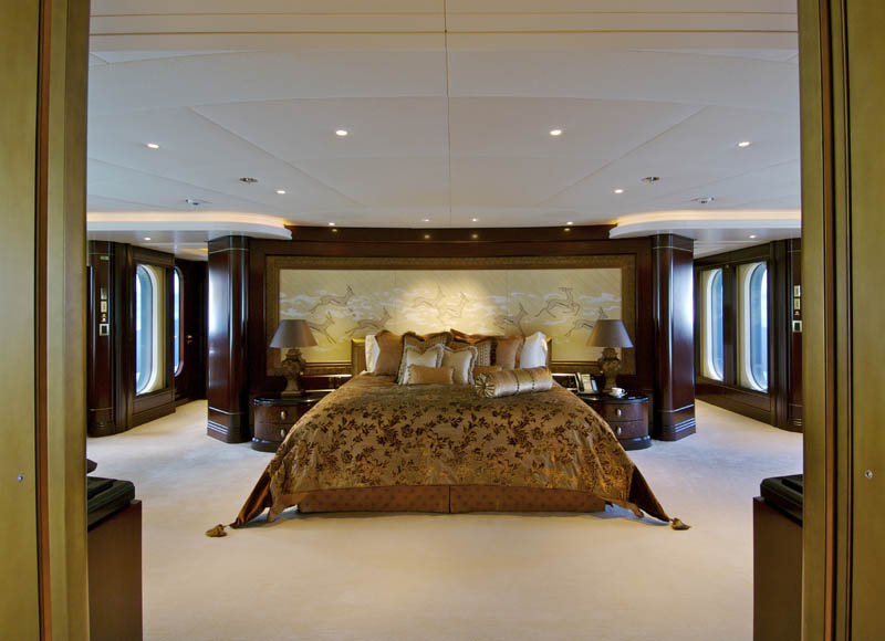 Sleek Mega Yacht Quot Kismet Quot Cruises In Style Idesignarch Interior Design Architecture