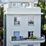 A 1930's Apartment Building In Tel-Aviv Gets A Face Lift