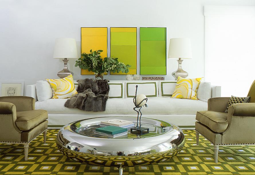 Modernist Interior With A Splash Of Glamour | iDesignArch | Interior ...