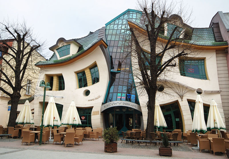 Image result for The Crooked House, Poland