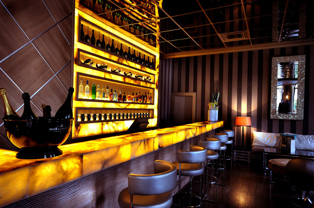 L\'Arc Paris Restaurant Bar & Club | iDesignArch | Interior Design ...