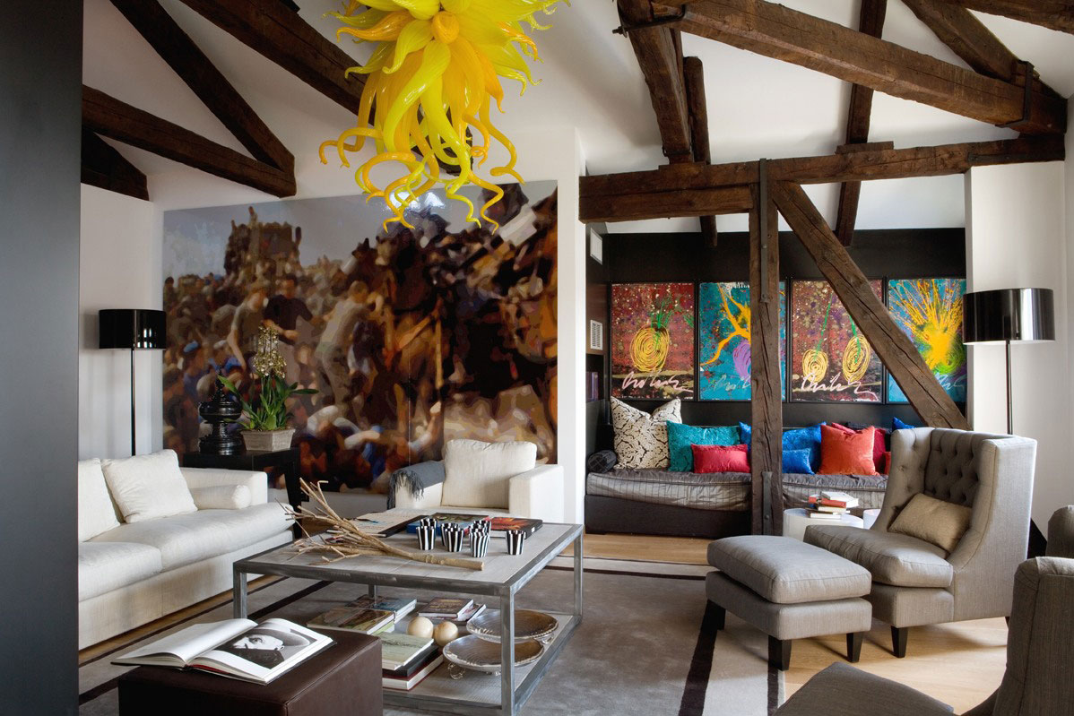 Contemporary Eclectic Interior Design Of A Venice Home | iDesignArch ...