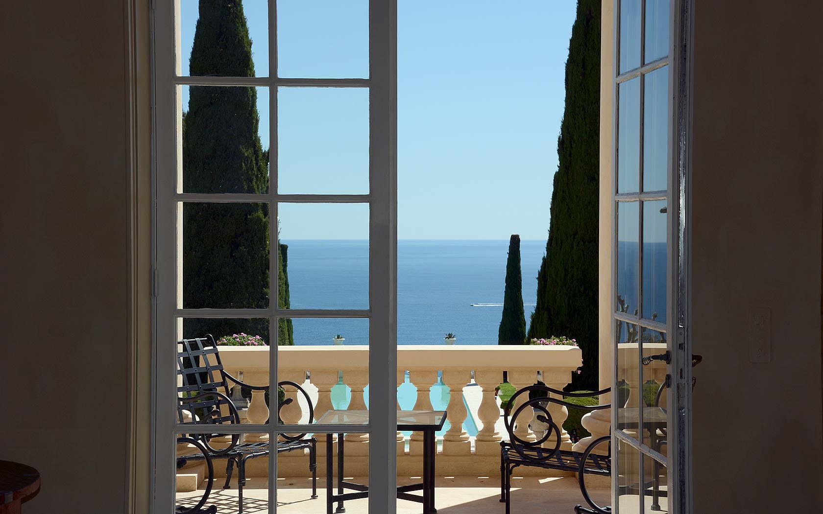 Ocean View Villa Balcony
