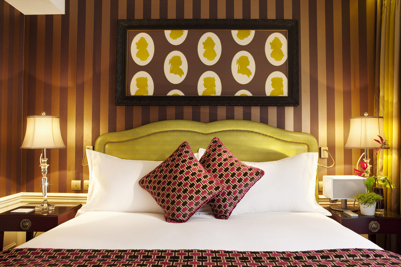 Vibrant Hotel Interior Decor