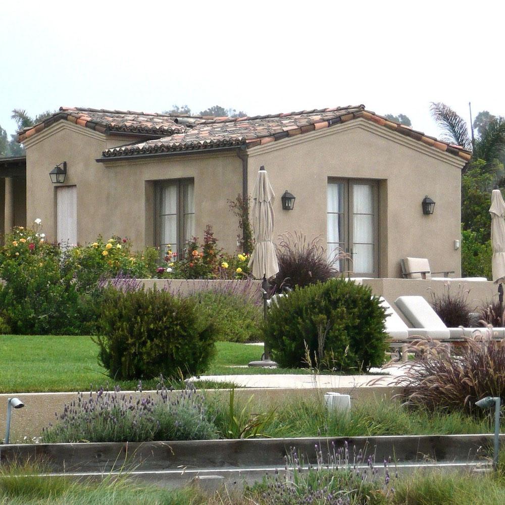 Mediterranean style Californian home