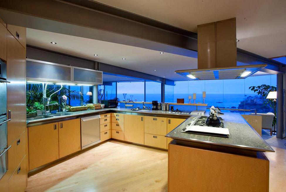 Building Your Dream Kitchen: Luxury Dream House In Laguna Beach