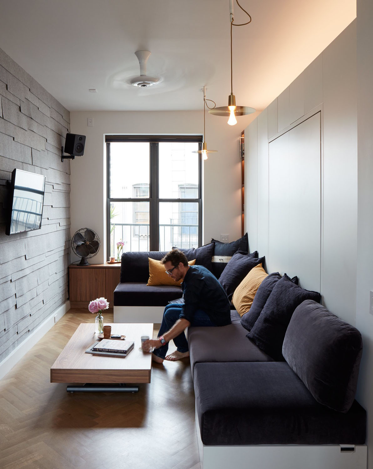 12 Picturesque Small Living Room Design: LifeEdited-NYC-Smart-Micro-Apartment_2