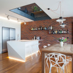 Triplex Loft Apartment Maximizes Natural Light