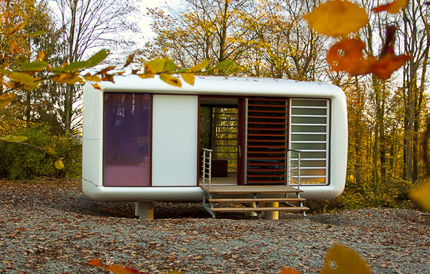 Loftcube Tiny Prefab Mobile Loft Idesignarch