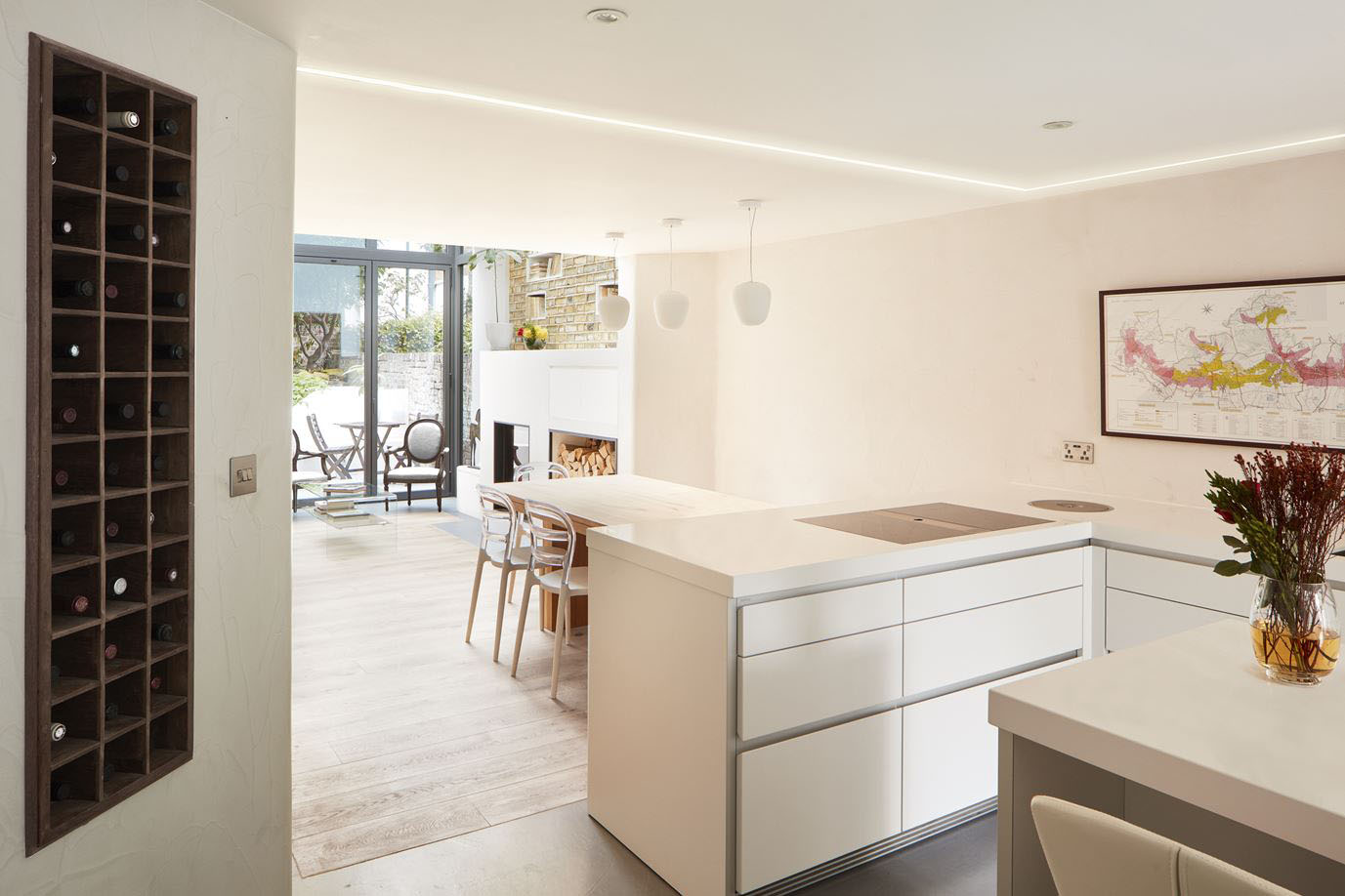 renovation and extension of a georgian house with narrow floor london georgian house modern renovation and extension 7