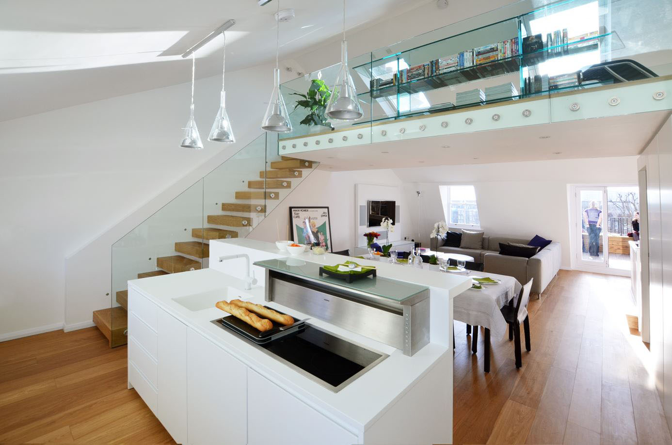 Contemporary Maisonette Apartment In A Grade Ii Listed Victorian Terraced Building Idesignarch