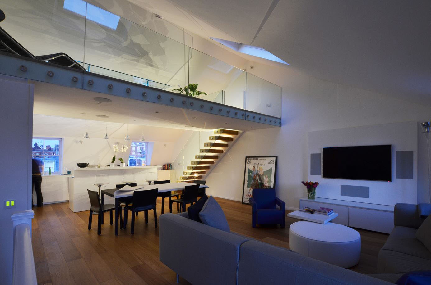 Contemporary Maisonette Apartment In A Grade Ii Listed