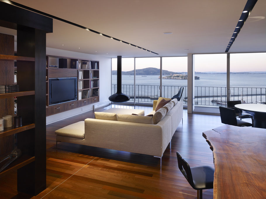 Luxury penthouse apartment in san francisco idesignarch for Best homes in san francisco