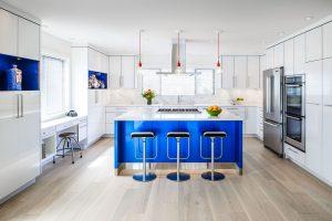 Urban Modern White Kitchen