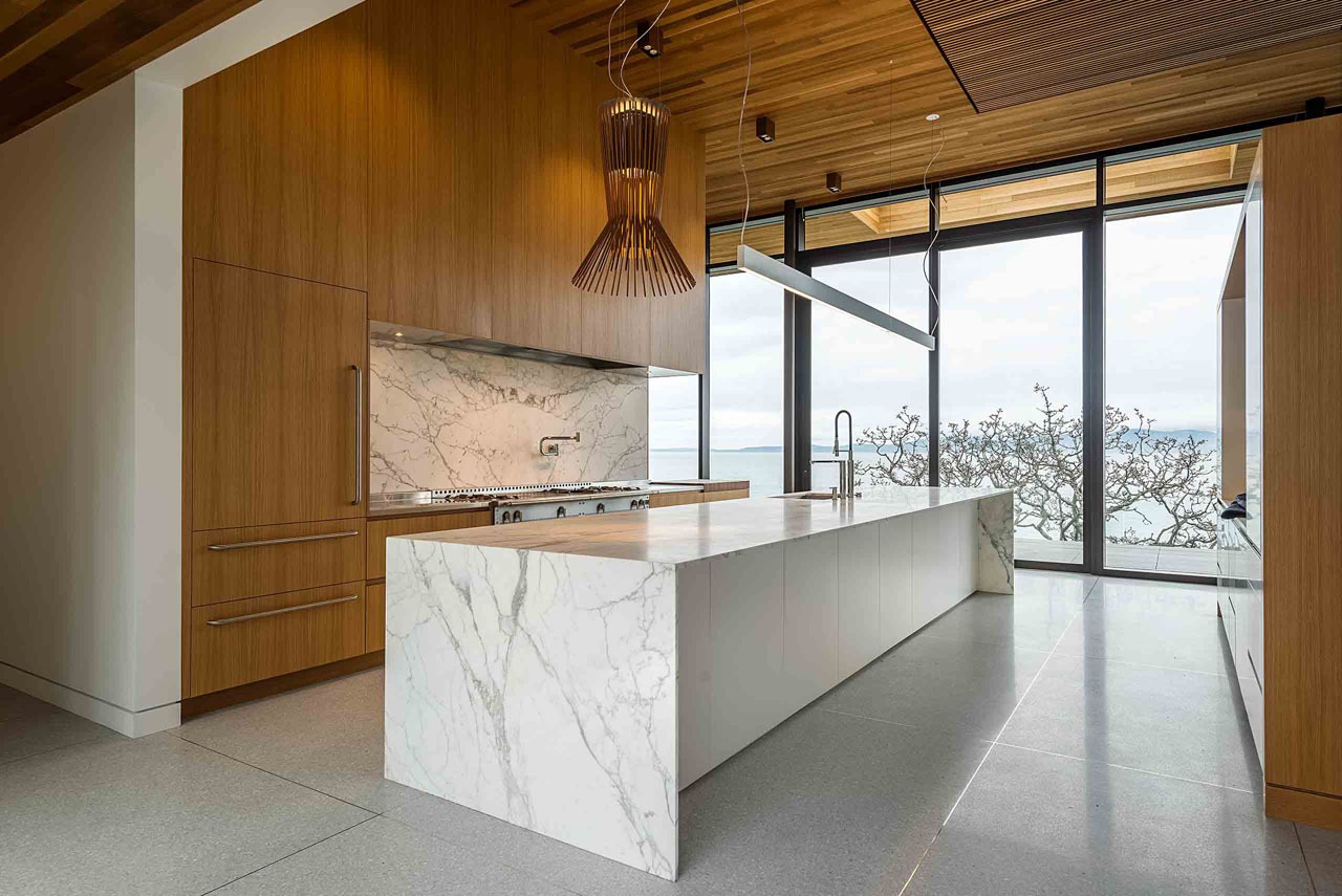 Pacific Ocean View West Coast Kitchen
