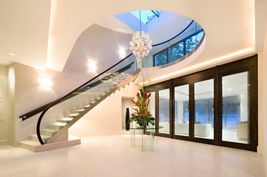Luxury mansion in london idesignarch interior design for Modern architecture house london