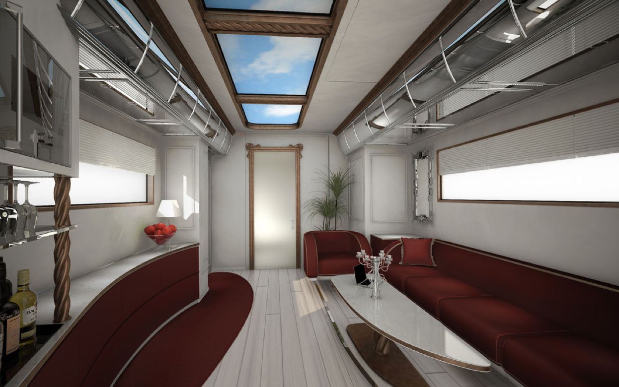 the ultimate luxury mobile home elemment palazzo idesignarch luxury rv