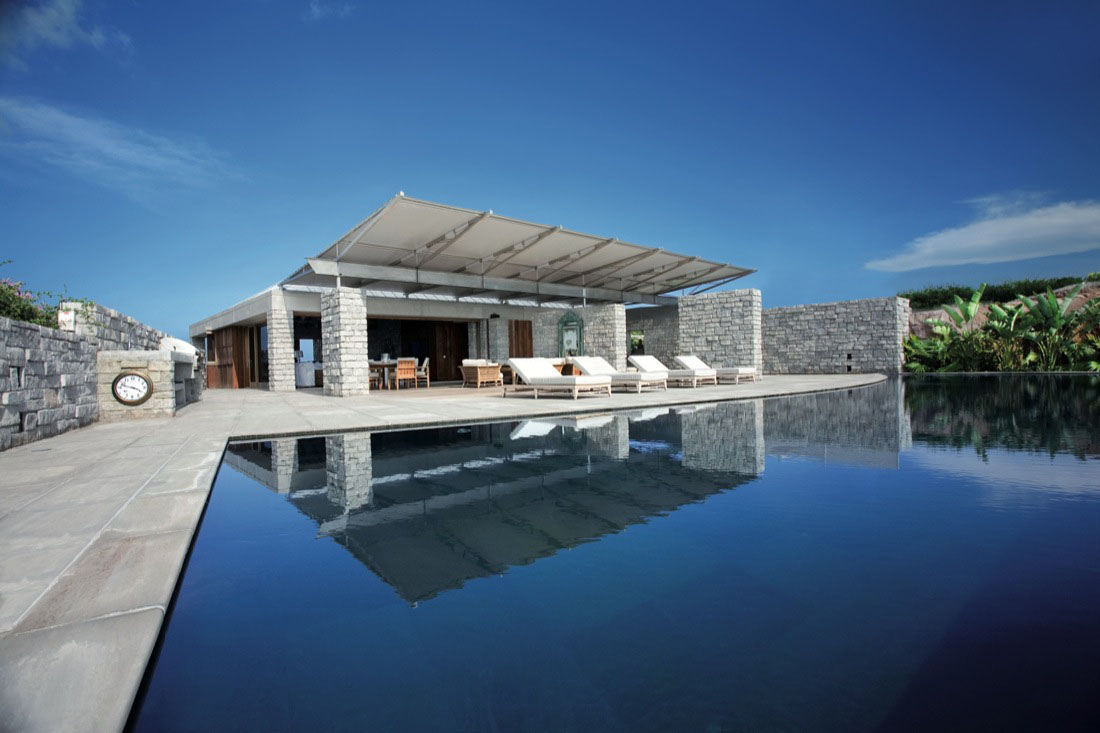 Modern Caribbean Architecture spectacular oceanfront residence in st. barts | idesignarch
