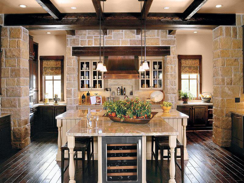 Gorgeous texas ranch style estate idesignarch interior for Remodeling ideas for ranch style homes