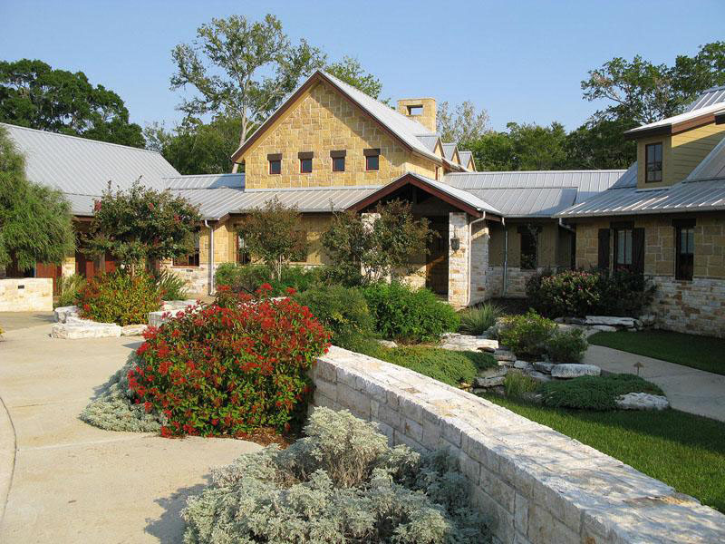 Gorgeous texas ranch style estate for Luxury ranch home plans