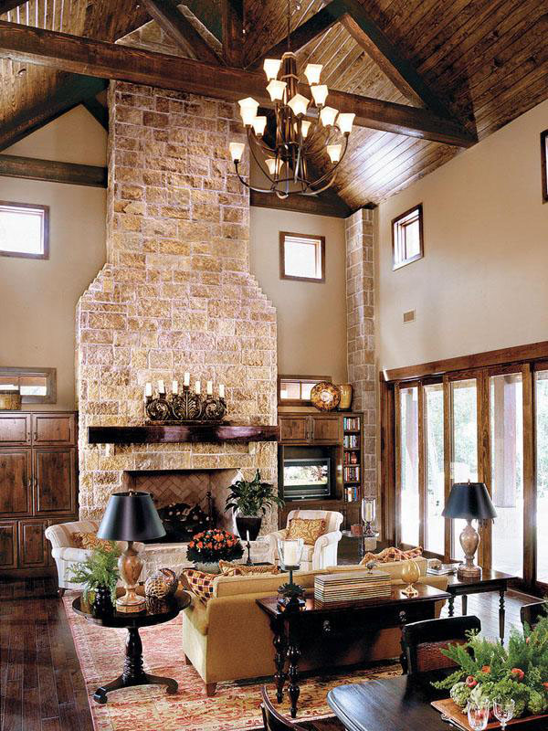 Gorgeous texas ranch style estate idesignarch interior - Modern ranch home interior design ...