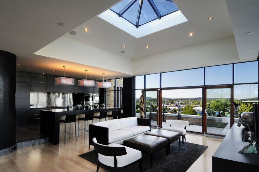 Luxurious Penthouse Dramatic Interior Penthouse Luxury Penthouse Luxury Apartment Sydney Penthouse