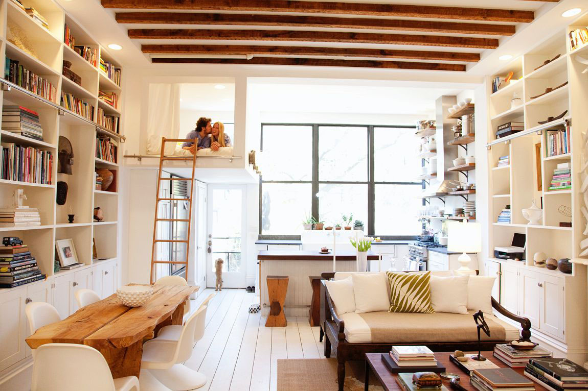 Brooklyn Brownstone Balances Between New And Old | iDesignArch ...