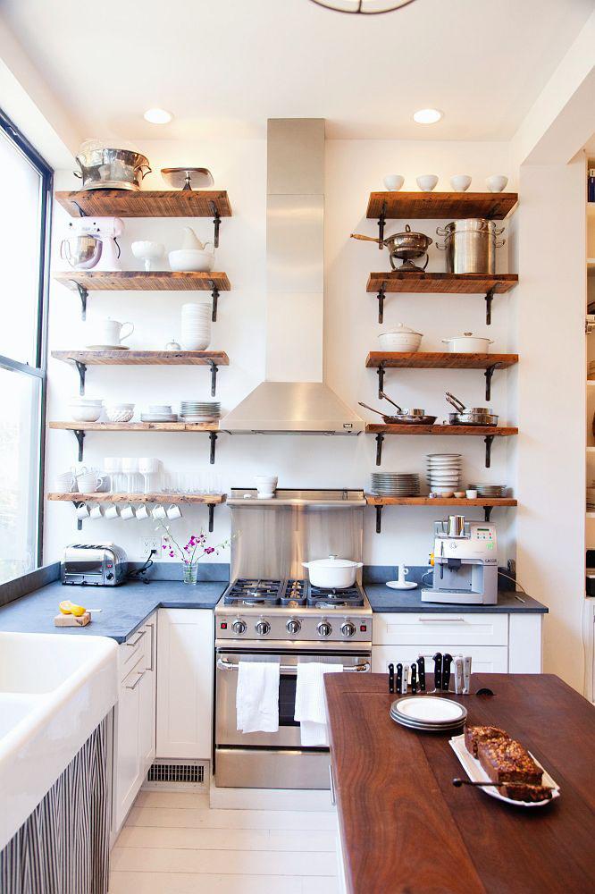 Brooklyn brownstone balances between new and old idesignarch interior design architecture - Kitchen design brooklyn ...