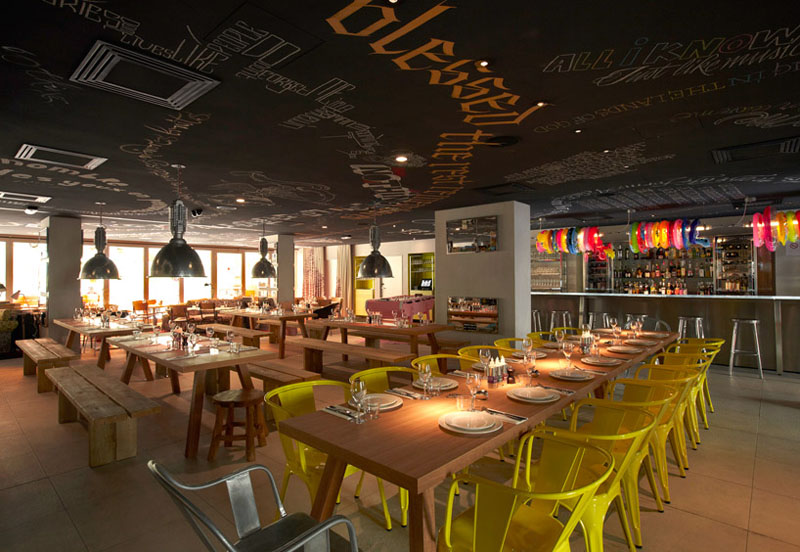 mama shelter hotel marseille eclectic interiors by philippe starck - Eclectic Interior Design Blogs