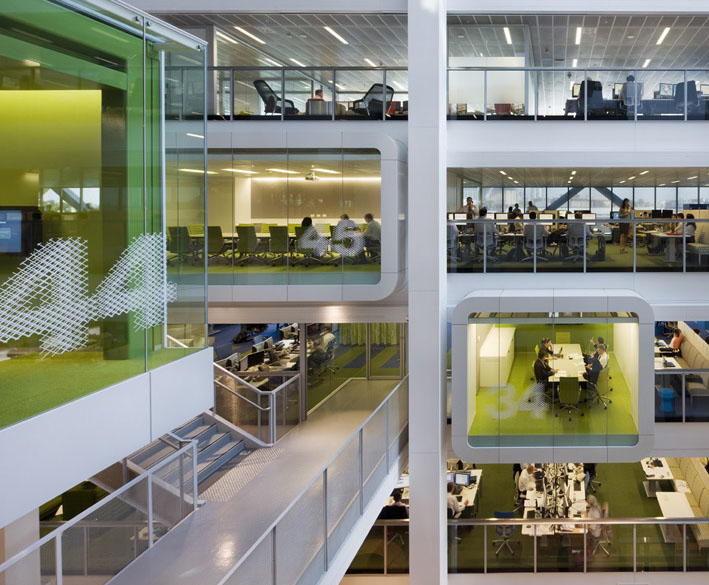 Macquarie Group Revolutionary Workplace Design Idesignarch Interior Design Architecture