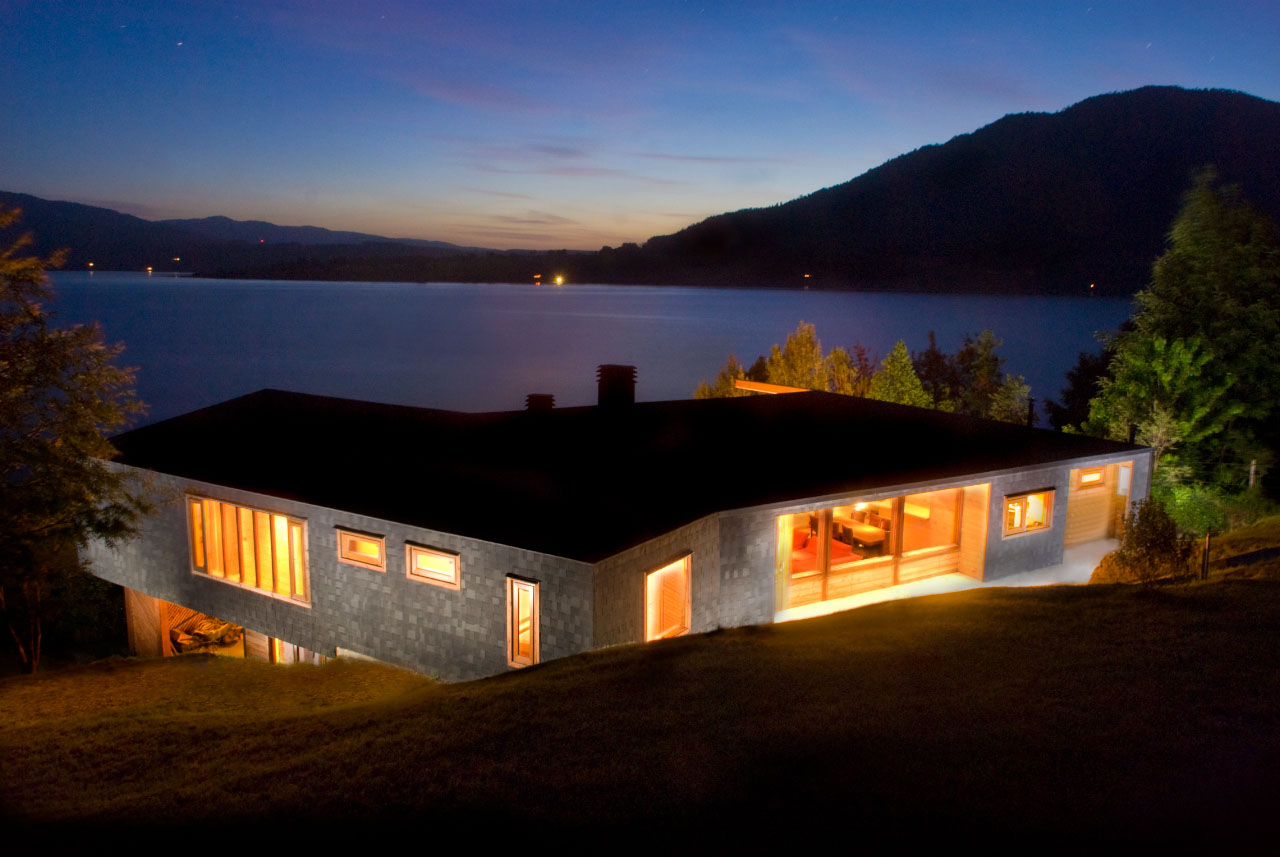 A Modern Retreat In The Chilean Lake District
